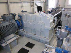 Instandsetzung Eisenbeiss Krangetriebe / Hubgetriebe