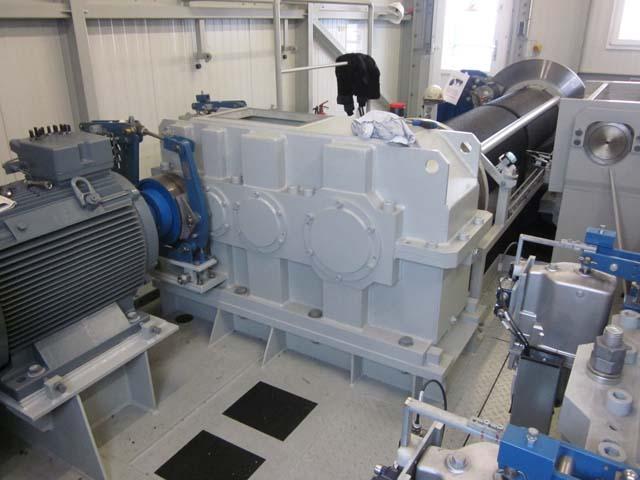 Instandsetzung Eisenbeiss Krangetriebe / Hubgetriebe / Hubwerksgetriebe