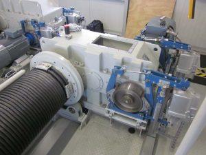 Instandsetzung / Revision eines Eisenbeiss Krangetriebes / Hubwerksgetriebe