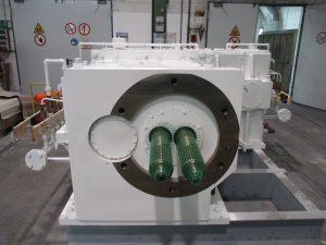 Instandsetzung JSP Extrudergetriebe TEX 180a-31,5AW-2V