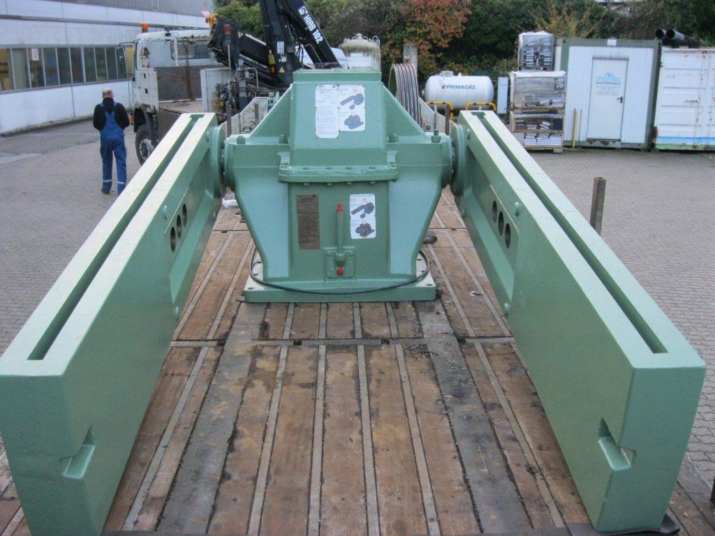 Instandsetzung und Leistungssteigerung Lufkin Getriebe TPAC 320D-213-120 aus Tiefpumpenantrieb