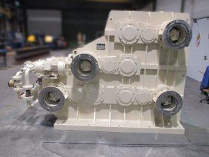 Reparatur eines Jake KalendergetriebesCS 320- 4 L 550 mit teilweiser Neufertigung der Verzahnungskomponenten auf Basis von Re-Engineering