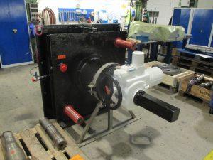 Windhoff_Getriebe aus Kählwerk nach der Instandsetzung