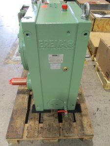 Instandsetzung Reparatur Koellmann Gears UNEX 65 Getriebes aus einer EREMA Recycling Anlage, hier nach der Reparatur