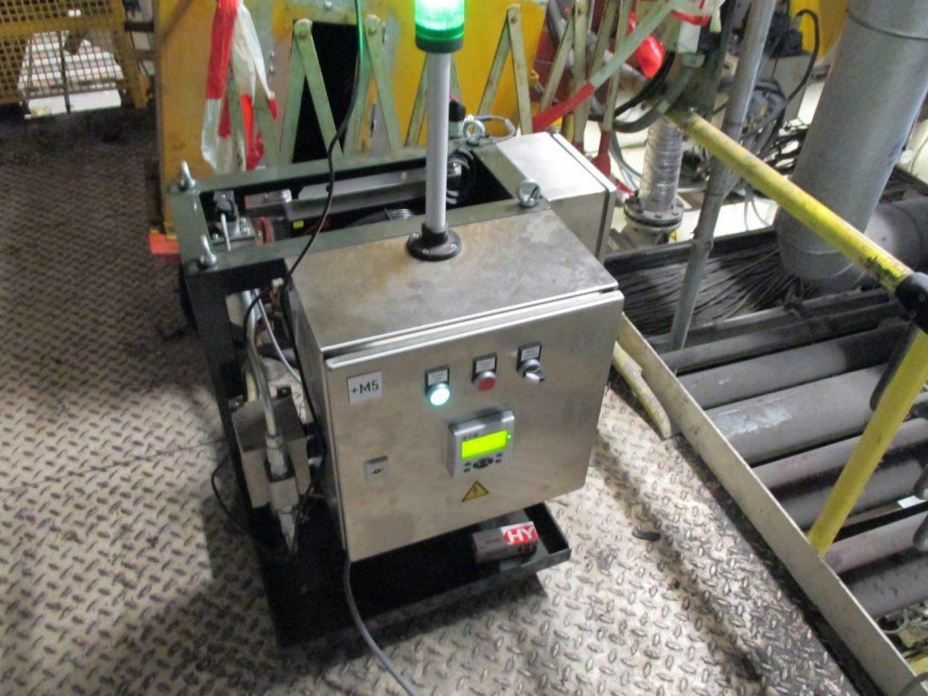 MetalSCAN All-in-one Aggregat zur online Überwachung von Getrieben auf Lagerschäden und Schäden an der Verzahnung