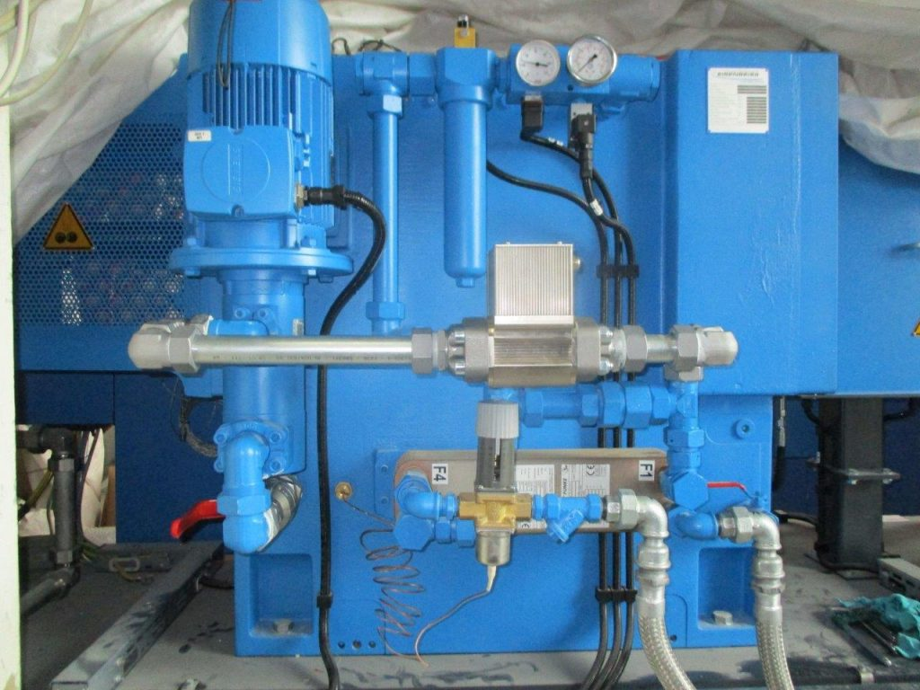 MetalSCAN Online Getriebeüberwachung Eisenbeiss Extrudergetriebe online Getriebeüberwachung Online-CMS