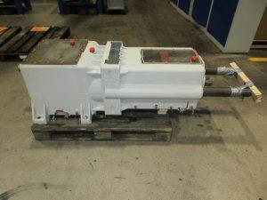 Eisenbeiss Getriebe DS 100 aus einem Doppelschneckenextruder vor der Instandsetzung