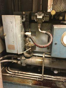 Extrudergetriebe online auf Schäden überwachen - MetalSCAN als Online Condition-Monitoring am Extrudergetrieben