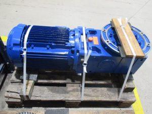 Getriebemotor Rossi MRCI 160 UO2A nach der Instandsetzung / Reparatur
