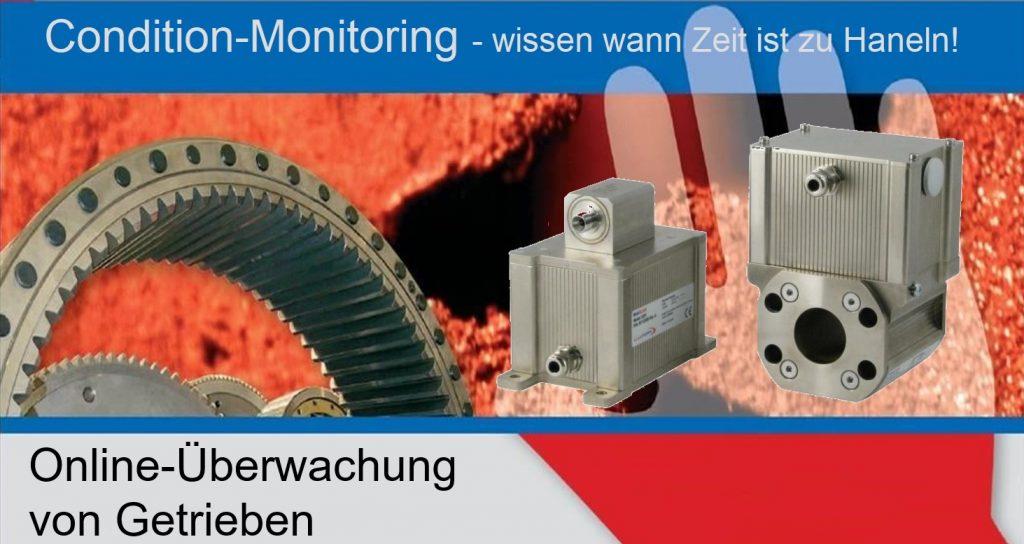 Industrie 4.0 Services Online Condition Monitoring Getriebe Online Condition Monitoring von Getrieben ohne Schwingungsmessung, aktuell beste System am Markt